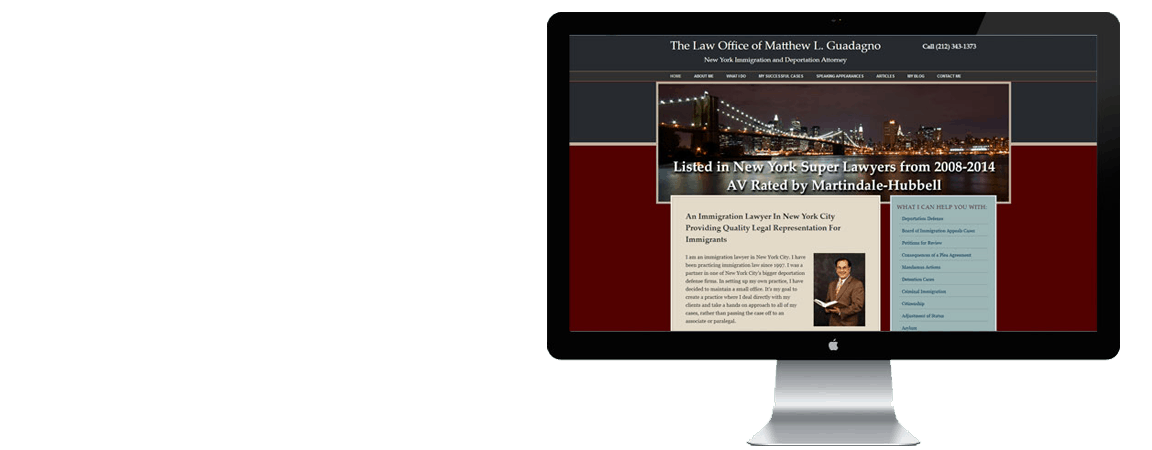 attorney website special style