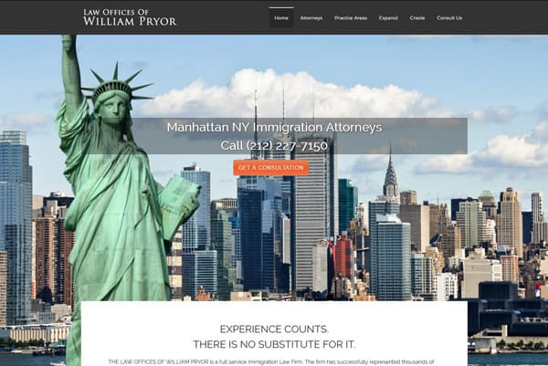 attorney website city style