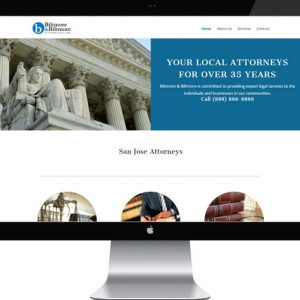 Personal Injury Attorney Starter Website
