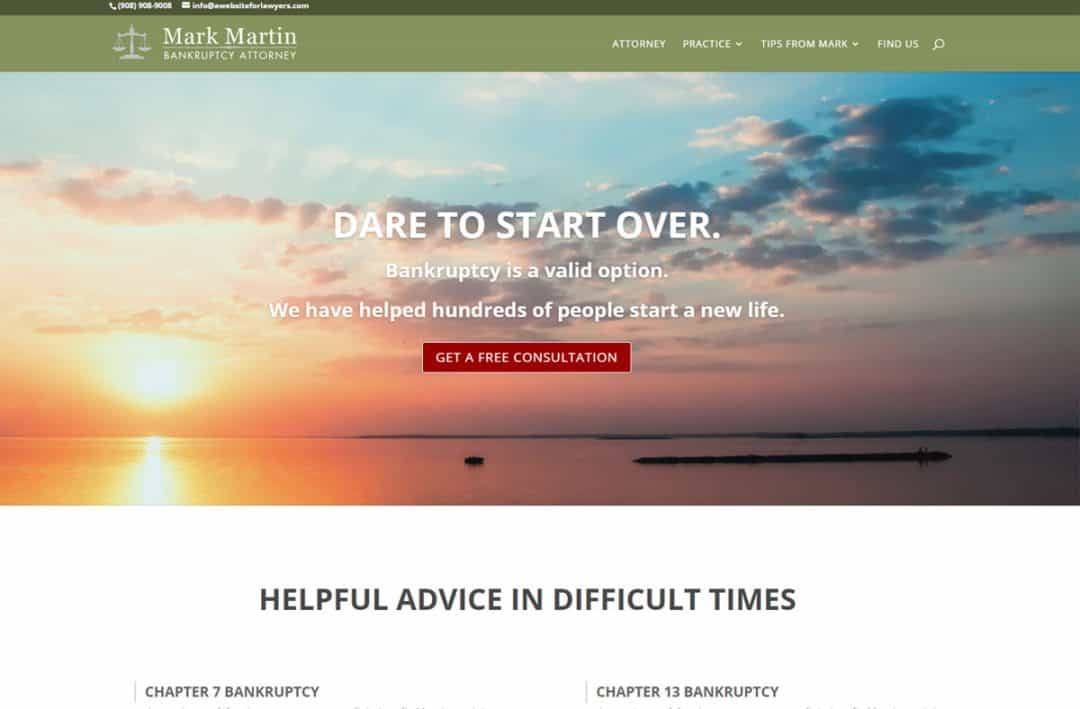 website for bankruptcy lawyers