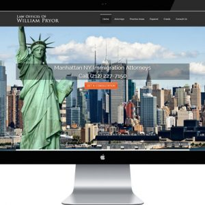 Lawyer Website - Immigration