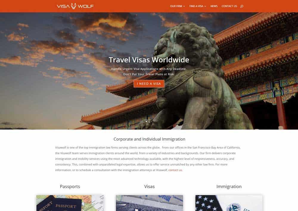 attorney website visawolf