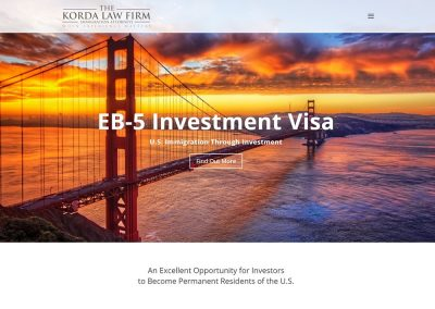 EB-5 Attorney – One-Pager