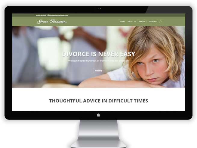 Divorce Lawyer Website