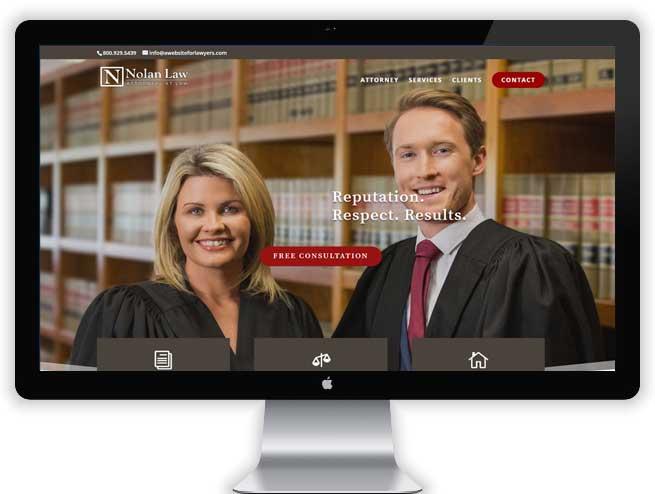 Litigation Attorney Website