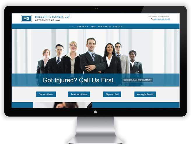 Personal Injury Website