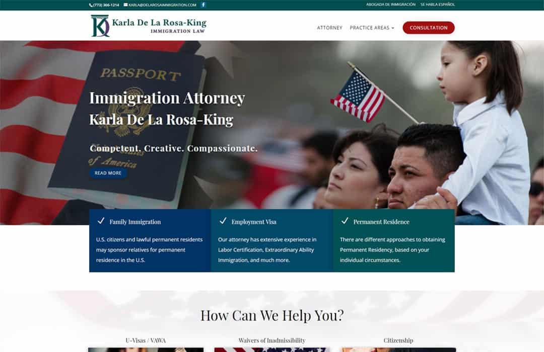Immigration Attorney Karla De La Rosa-King